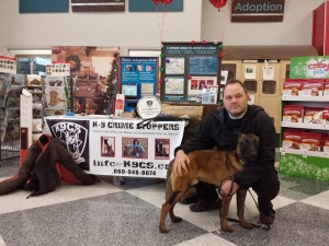 K9CS was one of 2 recipients of the donations received from the Tree of Hope campaign at Petco.